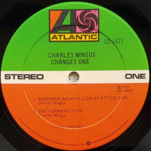 Load image into Gallery viewer, Charles Mingus  - Changes One