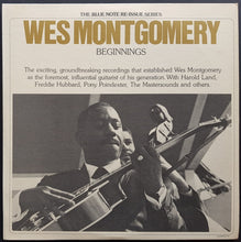 Load image into Gallery viewer, Montgomery, Wes  - Beginnings