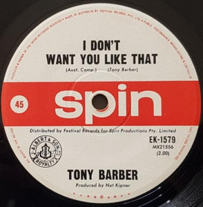 Tony Barber - Lookin' For A Better Day / I Don't Want You Like That
