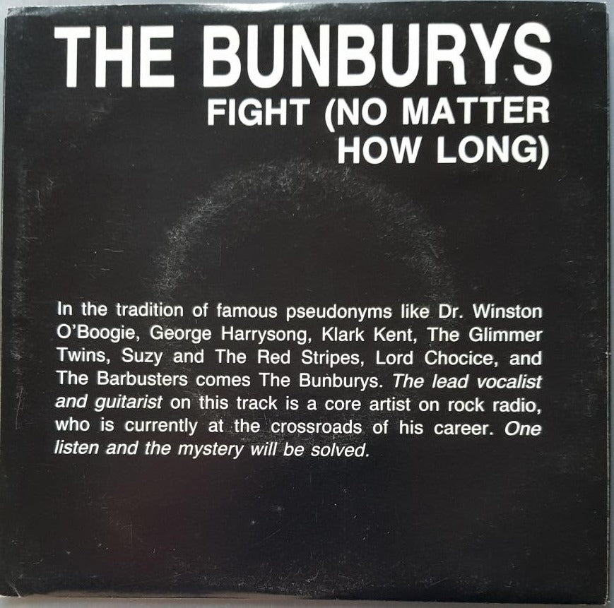 Bee Gees (Bunburys) - Fight (No Matter How Long)
