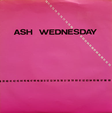Ash Wednesday - Love By Numbers