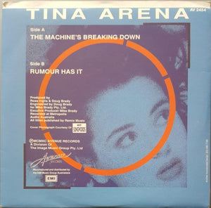 Tina Arena - The Machine's Breaking Down