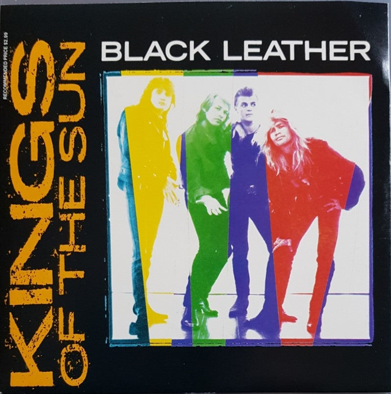 Kings Of The Sun - Black Leather