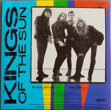 Load image into Gallery viewer, Kings Of The Sun - Black Leather
