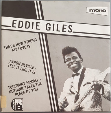 Eddie Giles - That's How Strong My Love Is