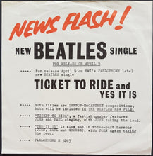 Load image into Gallery viewer, Beatles - Ticket To Ride
