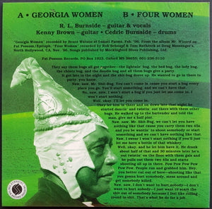 R.L. Burnside - Georgia Women