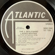 Load image into Gallery viewer, J. Geils Band  - Ladies Invited