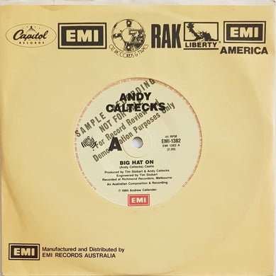 Andy Caltecks  - Big Hat On