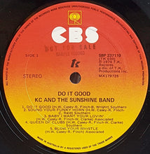 Load image into Gallery viewer, K.C. And The Sunshine Band  - Do It Good