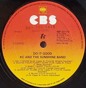 K.C. And The Sunshine Band  - Do It Good