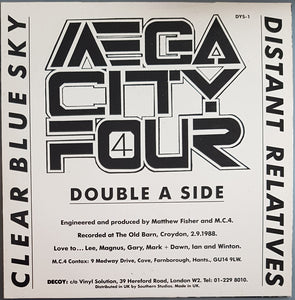 Mega City Four - Clear Blue Sky