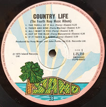 Load image into Gallery viewer, Roxy Music  - Country Life