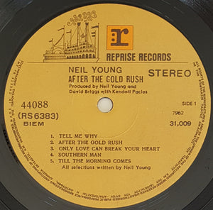 Young, Neil - After The Gold Rush