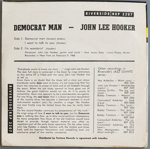 John Lee Hooker - Democrat Man