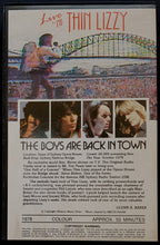 Load image into Gallery viewer, Thin Lizzy - The Boys Are Back In Town