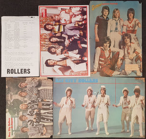 Bay City Rollers - Collection Of Posters, Pull-Outs & Pin-Ups