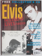 Load image into Gallery viewer, Elvis Presley - The Legend Lives Forever