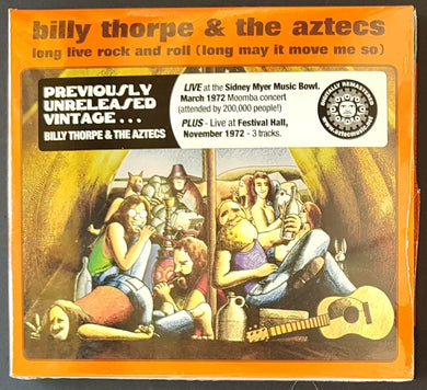 Billy Thorpe & The Aztecs - Long Live Rock And Roll (Long May It Move Me So)