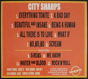 City Sharps - Beautiful And Insane
