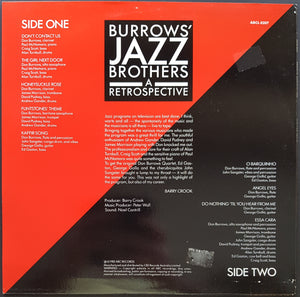 Don Burrows - Burrows' Jazz Brothers - A Retrospective