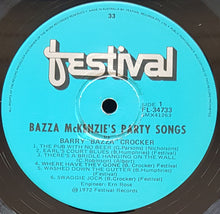 Load image into Gallery viewer, Barry Crocker - Bazza McKenzie's Party Songs