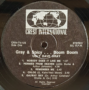 Gray, Ugly Dave - Gray & Spicy. Boom! Boom!