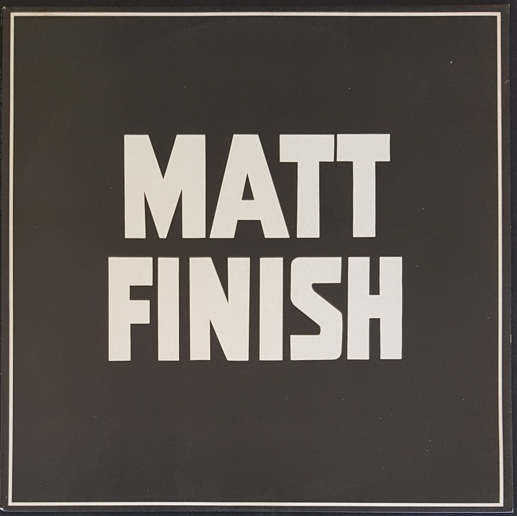 Matt Finish - One Of Those Moments