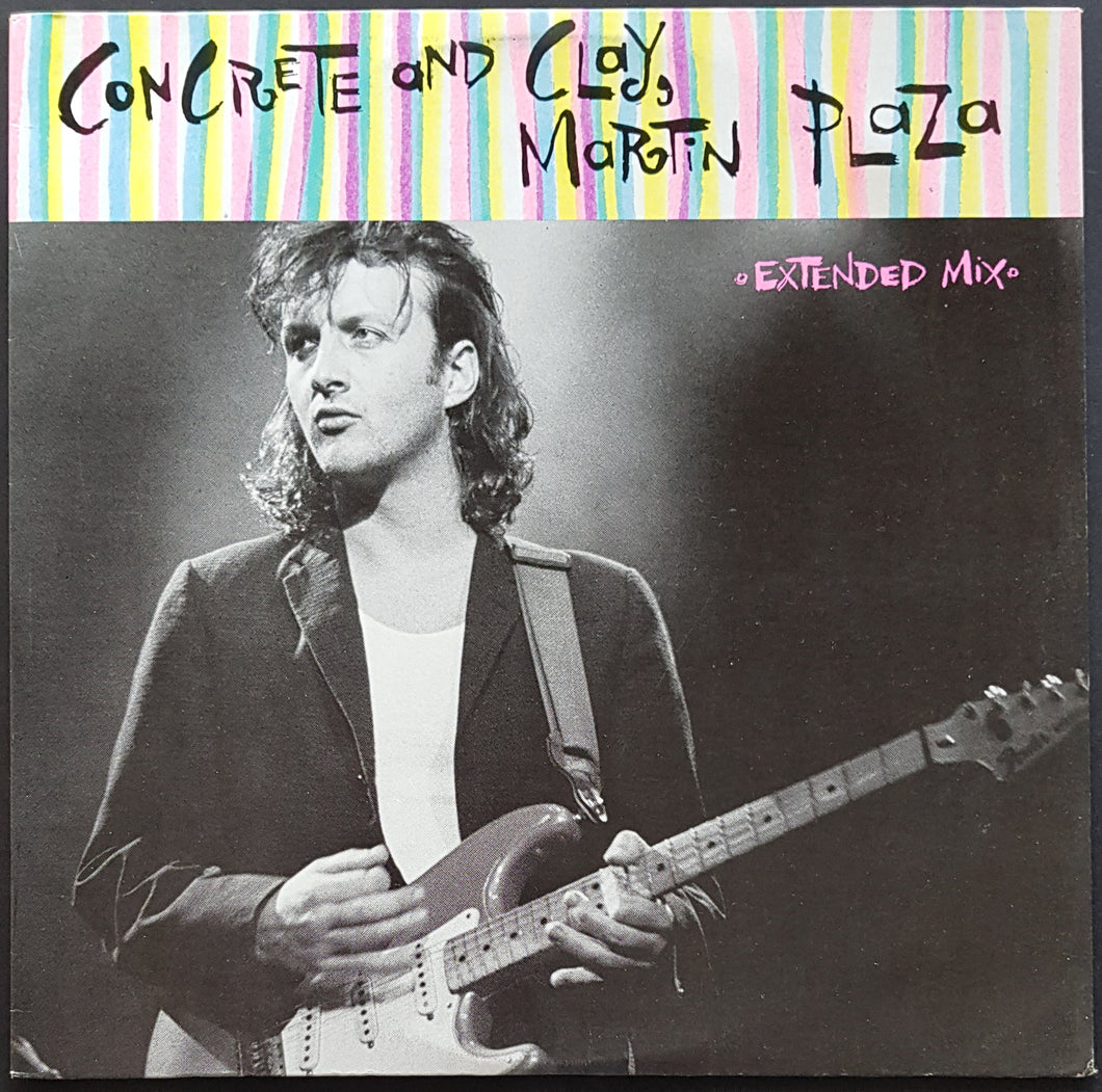 Mental As Anything (Martin Plaza) - Concrete And Clay