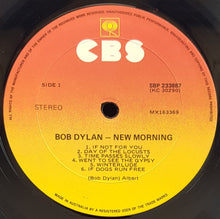 Load image into Gallery viewer, Bob Dylan - New Morning