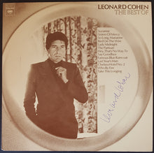 Load image into Gallery viewer, Leonard Cohen - The Best Of