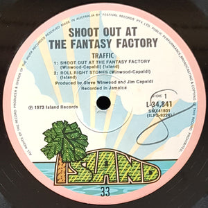 Traffic - Shoot Out At The Fantasy Factory