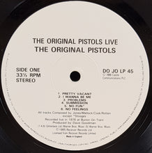 Load image into Gallery viewer, Sex Pistols - The Original Pistols Live