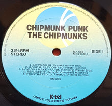 Load image into Gallery viewer, Chipmunks - Chipmunk Punk
