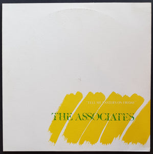 Associates - Tell Me Easter's On Friday