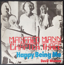 Load image into Gallery viewer, Manfred Mann Chapter III - Happy Being Me