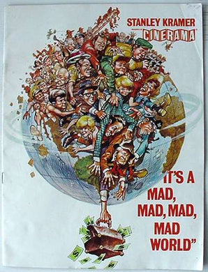 Film & Stage Memorabilia - It's A Mad,Mad,Mad,Mad World
