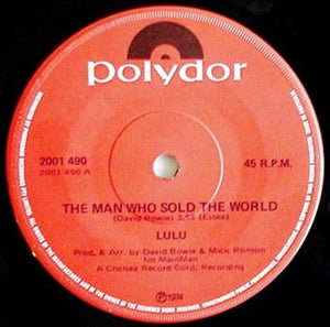 David Bowie (Lulu) - The Man Who Sold The World / Watch That Man