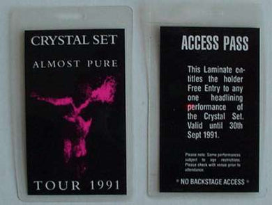 Almost Pure Tour 1991