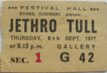 Load image into Gallery viewer, Jethro Tull - 1977