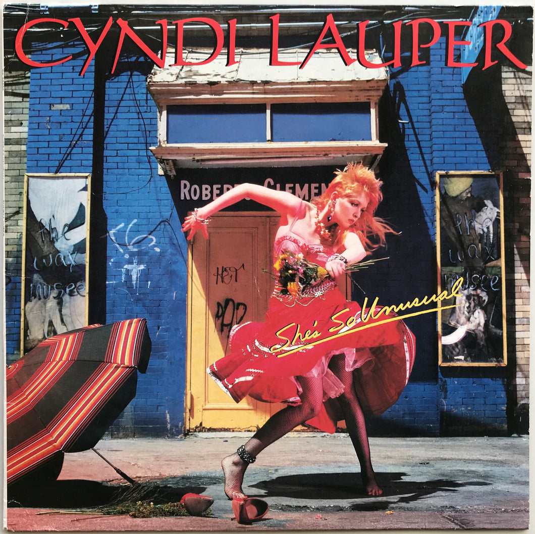 Cyndi Lauper - She's So Unusual
