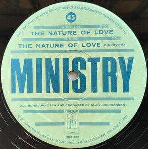 Ministry  - The Nature Of Love