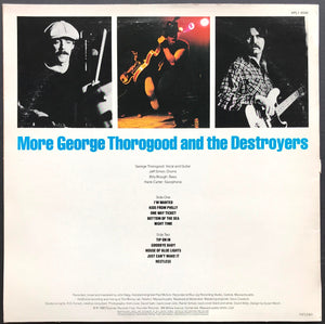 George Thorogood (And The Destroyers) - More George Thorogood And The Destroyers