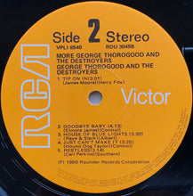 Load image into Gallery viewer, George Thorogood (And The Destroyers) - More George Thorogood And The Destroyers