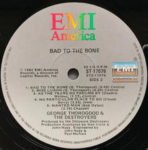 Load image into Gallery viewer, George Thorogood (And The Destroyers) - Bad To The Bone