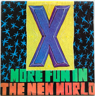 X (US)  - More Fun In the New World