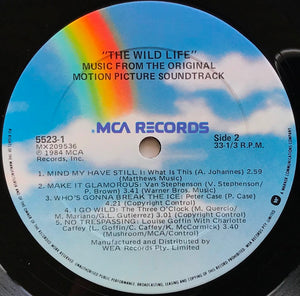 O.S.T.  - The Wild Life - Music From The Original Motion Pic