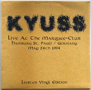 Kyuss - Live At The Marquee-Club