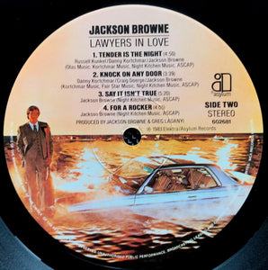 Jackson Browne - Lawyers In Love