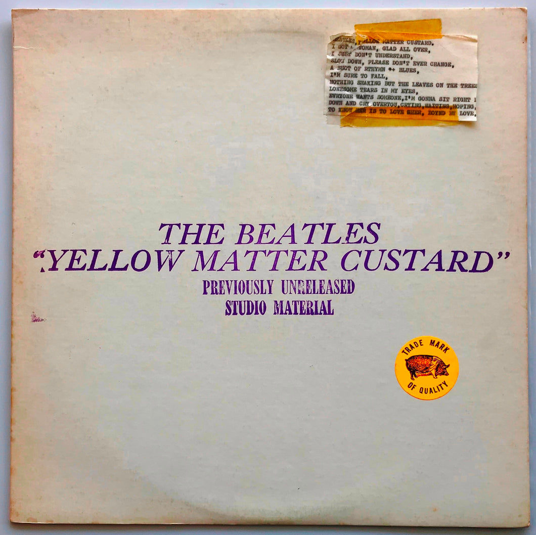 Beatles - Yellow Matter Custard